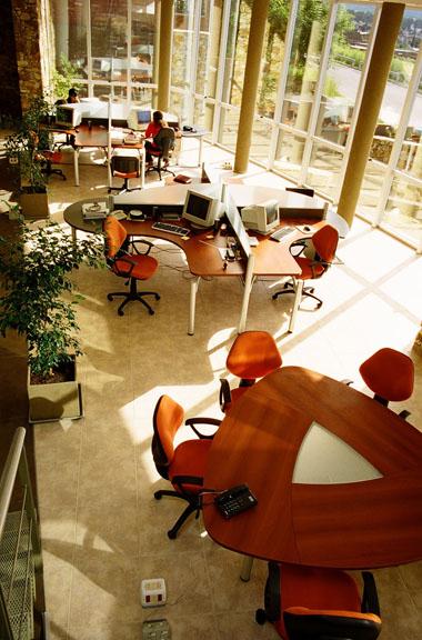Edificio XR-GEOMAP, interior