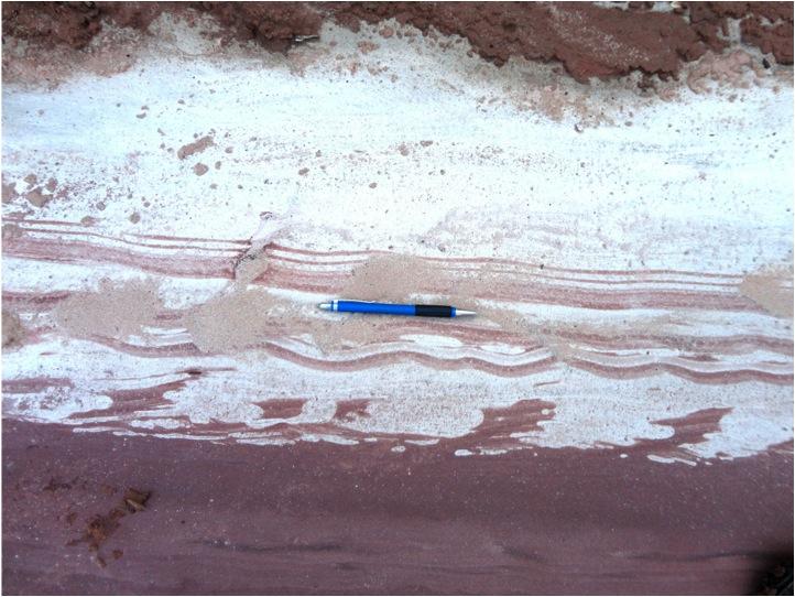 Formación Taiguati, Rio Macharetí, Subandino Sur de Bolivia-3